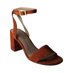 Women's Charles by Charles David Keenan Ankle-Strap Sandal Camel Suede