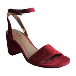 Women's Charles by Charles David Keenan Ankle-Strap Sandal Flamingo Suede
