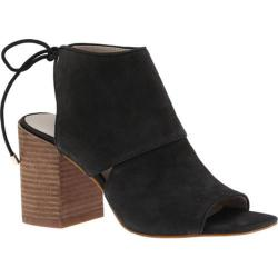Women's Kenneth Cole New York Katarina Open-Toe Bootie Black Leather (More options available)