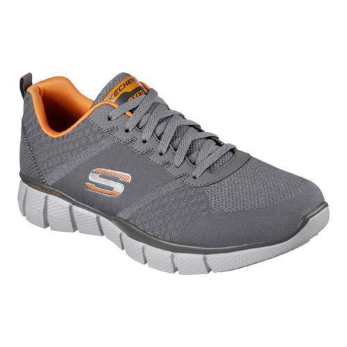 91b8bcbb7718 Shop Men s Skechers Equalizer 2.0 True Balance Training Shoe  Charcoal Orange - Free Shipping Today - Overstock - 14775692