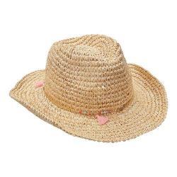 Women's Scala LR690 Straw Hat with Tassel Natural