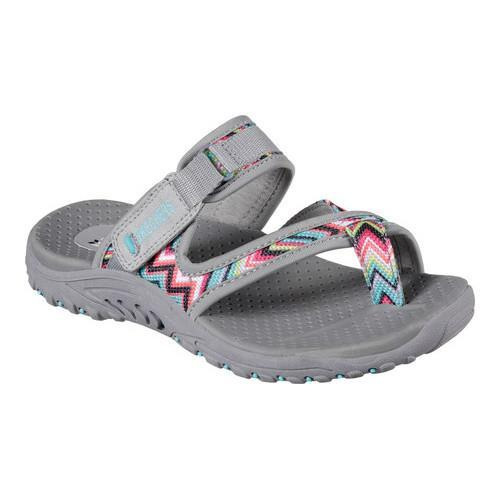 d40f8284371c Shop Women s Skechers Reggae Zig Swag Gray - On Sale - Free Shipping On  Orders Over  45 - Overstock - 14775815