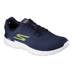 Men's Skechers GOrun 400 Generate Trainer Navy/Lime