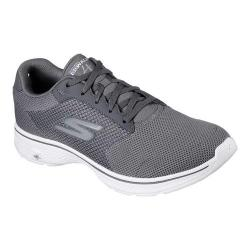 Men's Skechers GOwalk 4 Sneaker Charcoal/Charcoal