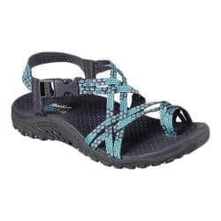 so cheap price reduced pretty nice Women's Skechers Reggae Loopy Sandal Teal | Overstock.com Shopping - The  Best Deals on Sandals