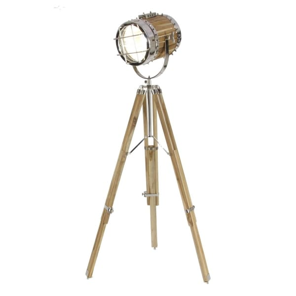 Studio 350 Aluminum Wood Spot Light 52 inches high