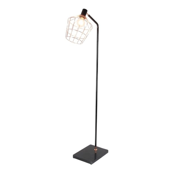 Studio 350 Metal Marble Floor Lamp W Bulb 21 inches wide, 62 inches high