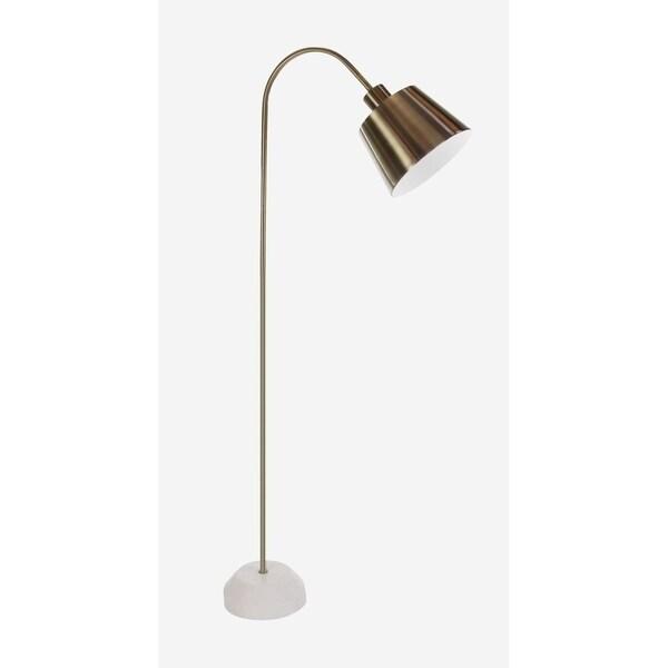 Studio 350 Metal Marble Floor Task Lamp 55 inches high