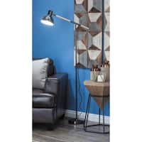 Studio 350 Metal Wood Floor Task Lamp 26 inches wide, 60 inches high