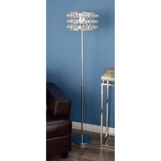 Studio 350 Metal Glass Floor Lamp 62 inches high