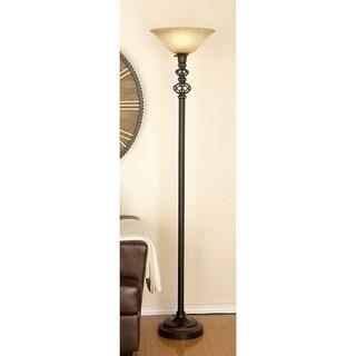 Studio 350 Metal Glass Floor Lamp 71 inches high