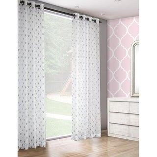 LiteOut- All the Love Sheer Panels (Pair) - 52 x 84