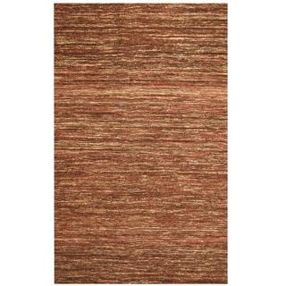 "Handmade Chenille Flatweave Rug (India) - 6'6"" x 9'6"""