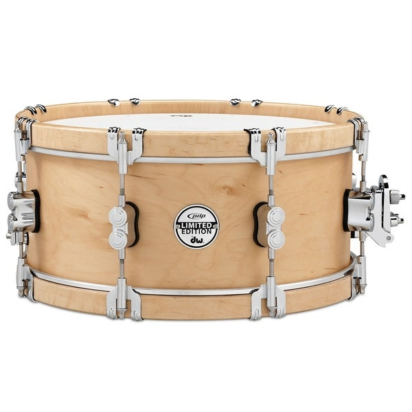 shop pacific pdp limited classic wood hoop 6 x14 snare drum w claw hooks free shipping today. Black Bedroom Furniture Sets. Home Design Ideas
