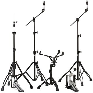 Mapex Mars 600 Series Hardware Pack W/ P600 Single Pedal - Blackplated