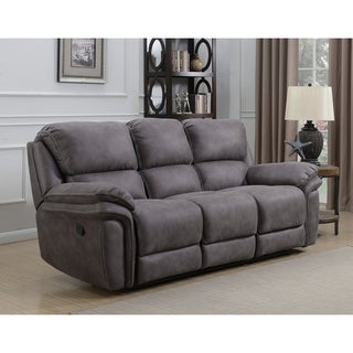 Henry Dual Lay Flat Reclining Sofa with Memory Foam Seat Toppers