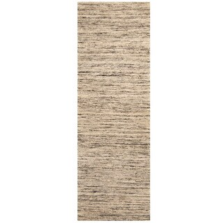 Herat Oriental Indo Hand-tufted Chenille Flatweave Contemporary Runner (2'8 x 8')