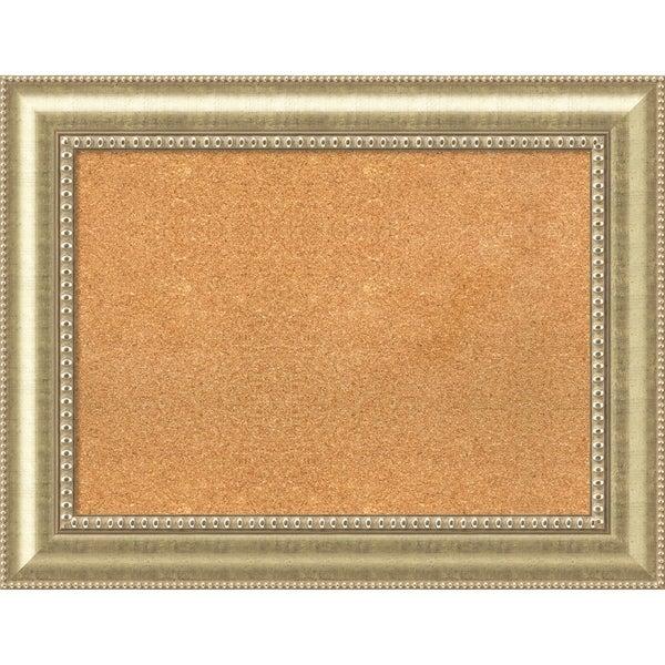 Framed Cork Board, Astoria Champagne