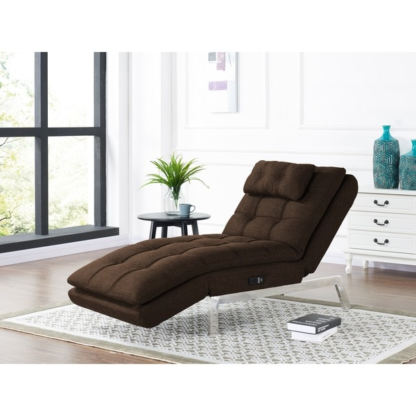 Shop Relax A Lounger Adrian Convertible Chaise By Lifestyle