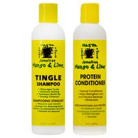 Jamaican Mango & Lime 8-ounce Tingle Shampoo & Protein Conditioner Duo