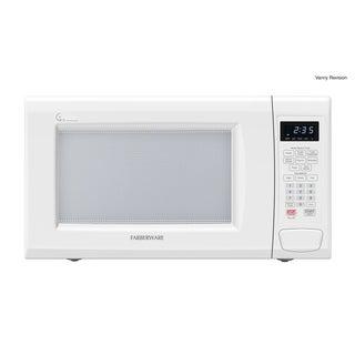 Farberware  1.3 Cubic Foot, 1100-Watt Microwave with Smart Sensor, White