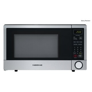 Farberware 1.1-cu ft Stainless Steel 1000-W Microwave with CRS Technology
