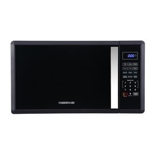 Farberware 1.1 cu ft Soft Touch 1000-W Microwave, Black