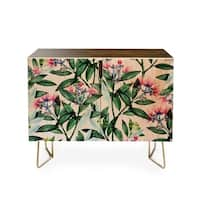 83 Oranges Floral Cure One Credenza