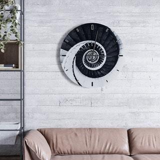 Timely Swirl Clock
