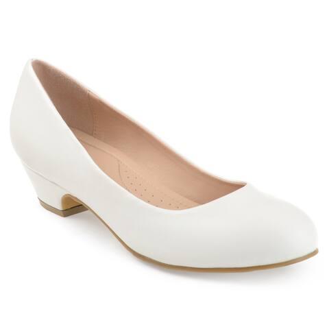 f9b30b645 Journee Collection Women's 'Saar' Comfort-sole Classic Heels. $53.99.  $15.00 OFF