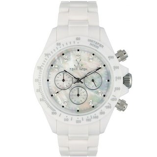 ToyWatch Fluo Chrono White FL20WH