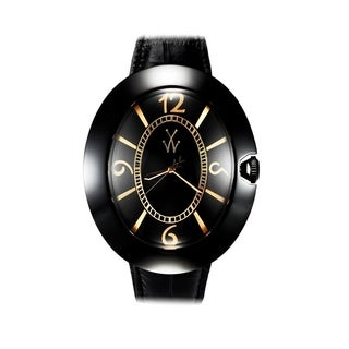 ToyWatch Dome Black and Yellow Gold BB03BKB