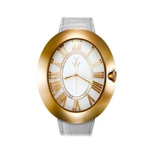 ToyWatch Dome White and Yellow Gold BB01WHY