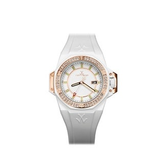 ToyWatch ToyStrong Stones White and Rose Gold NS03WH