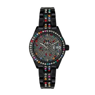 ToyWatch Metallic Stones Black ME20BK