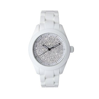 ToyWatch Velvety White Full Pave VV15WH