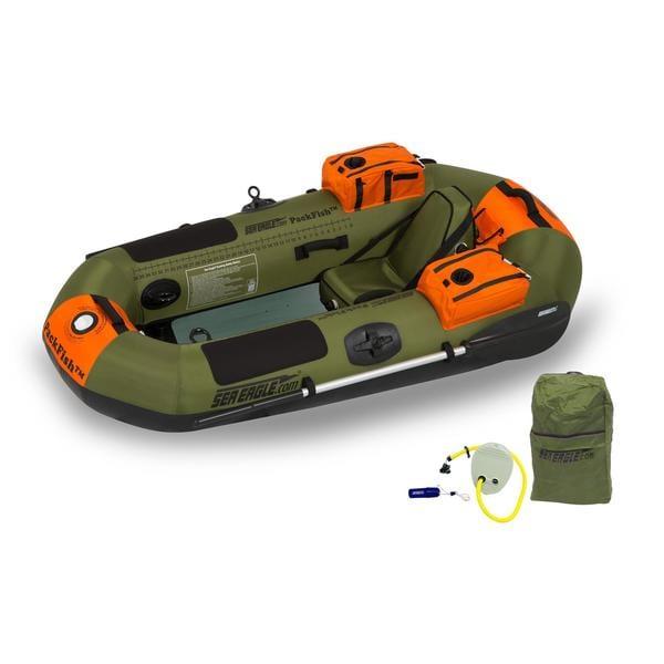 Sea Eagle PackFish7 Fishing Boat Raft