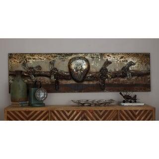 Studio 350 Metal 71-inch Wide x 20-inch High Wall Art
