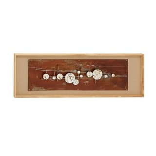 Studio 350 Wood Frame Wall Art 59 inches high, 20 inches wide