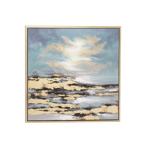 Studio 350 Framed Canvas Art 39 inches wide, 39 inches high