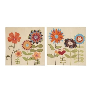 Studio 350 Canvas Art Set of 2, 24 inches wide, 24 inches high