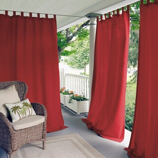 Matine Indoor/Outdoor Curtain Panel (3 options available)