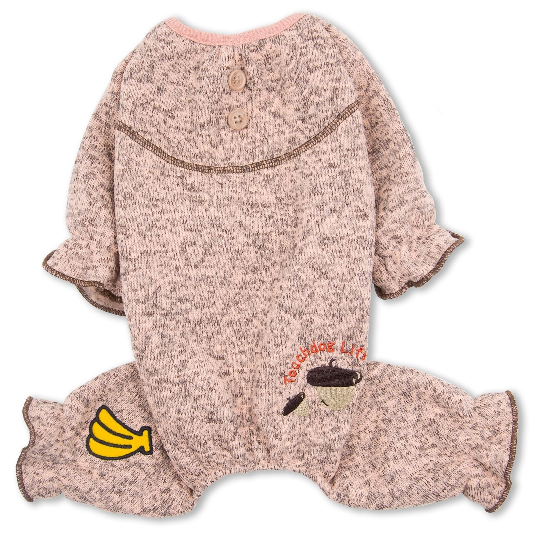 Petlife Touchdog Bark-Zz Designer Soft Cotton Full Body T...