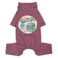 Touchdog Bodysuit Lightweight Breathable Printed Full Body Pet Dog T-Shirt Pajamas