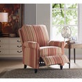ProLounger Red Stripe Push Back Recliner Chair