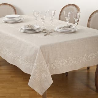 Suzani Textiles, Hand-embroidered Tablecloths and Throws