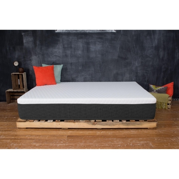 Shop King Gel Memory Foam Mattress 12 Inch Gf1266 Bed In A Box