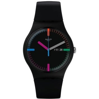 Swatch THE INDEXTER Silicone Unisex Watch SUOB719
