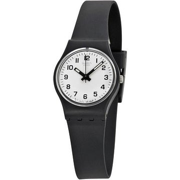 Swatch Something NEW Ladies Watch LB153, Black, Size One ...