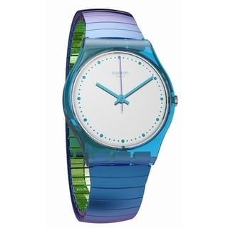 Swatch FLEXICOLD Blue Stainless Steel Unisex Watch GL117B